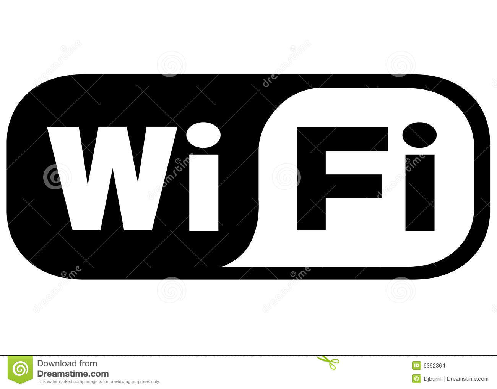 WiFi Ikone redaktionelles stockbild. Illustration von laptop - 6362364