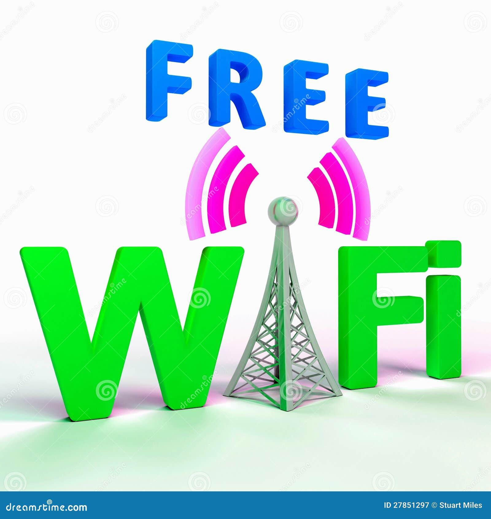 Wifi Internetowy symbol Pokazuje punkt zapalnego Lub związek