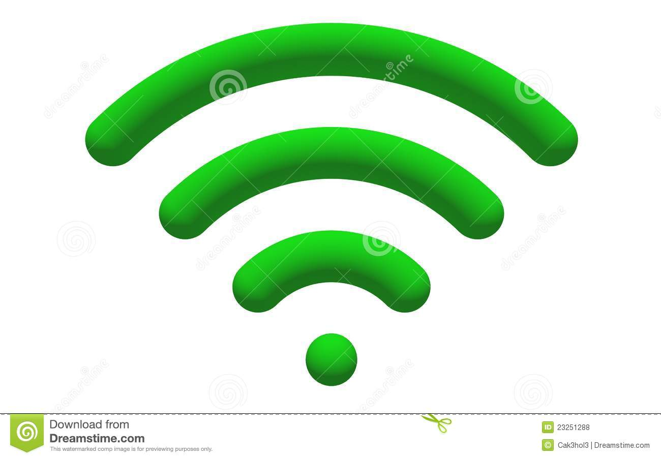 WiFi Logo Royalty Free Stock Photos - Image: 23251288