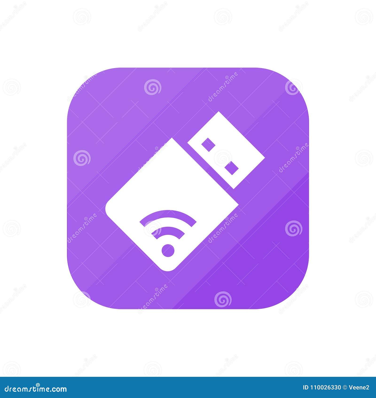 WiFi-Opslag - App Pictogram