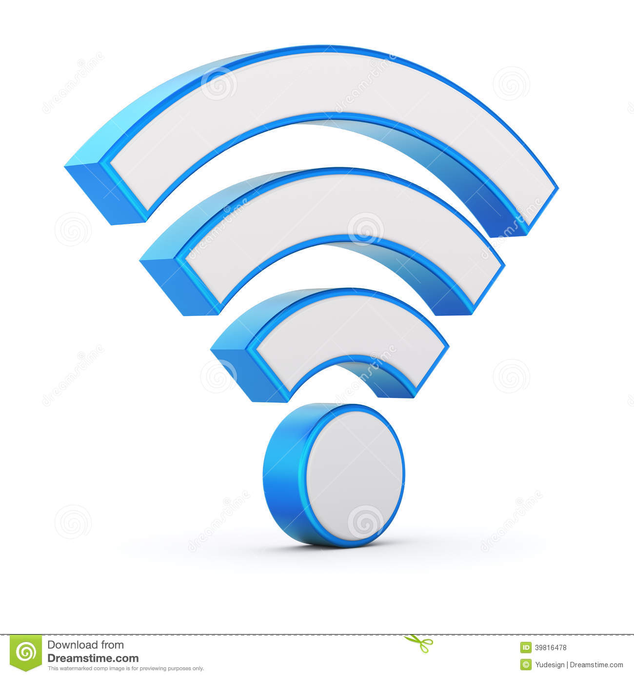Wifi Symbol Stock Illustration Illustration Of Mobile 39816478