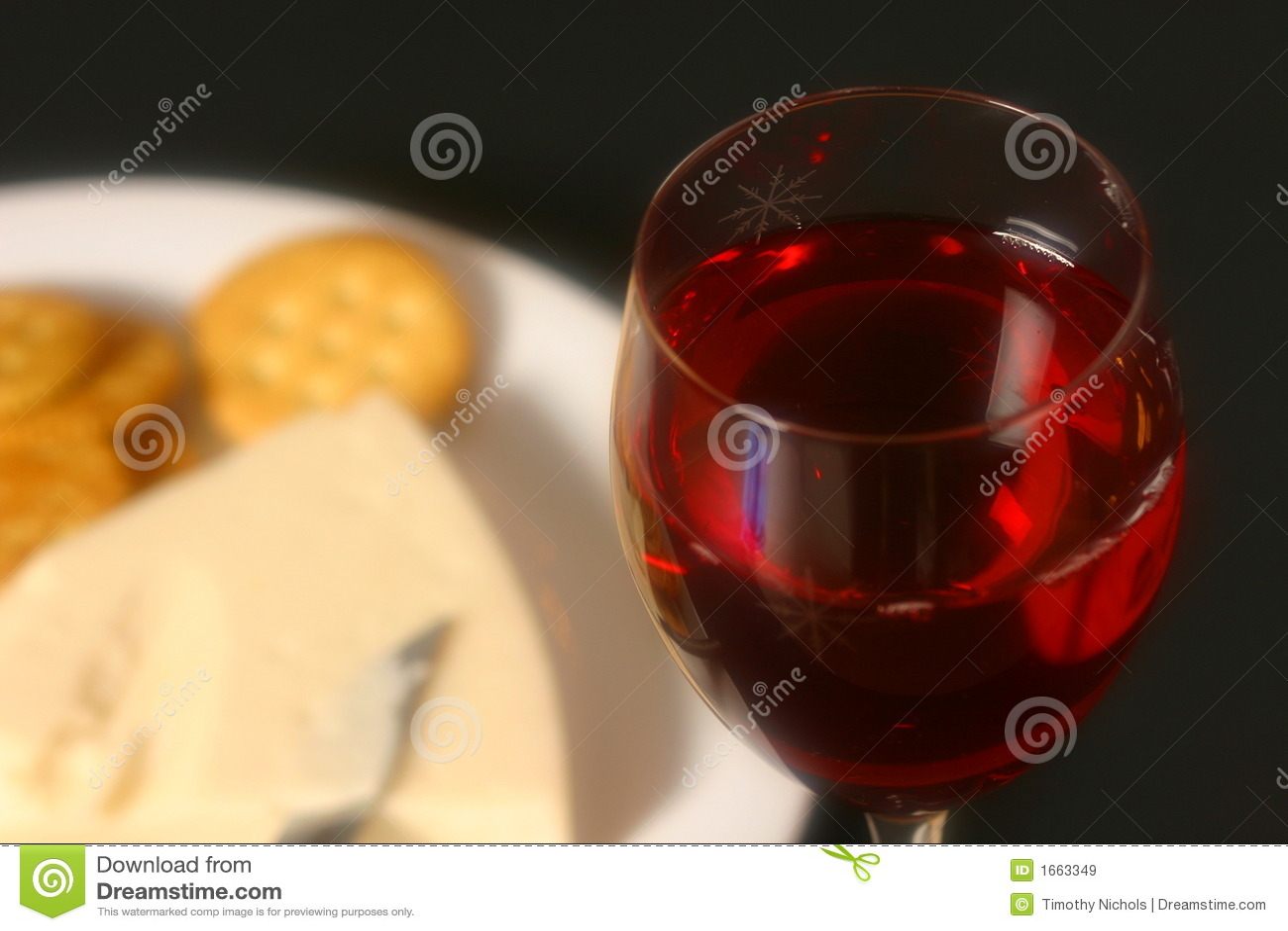 Wijn, Kaas, en Crackers