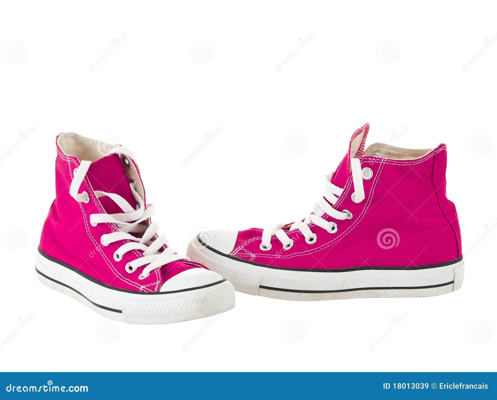 Wijnoogst die roze schoenen hangt stock afbeelding afbeelding 18013039 - Wijnoogst ...
