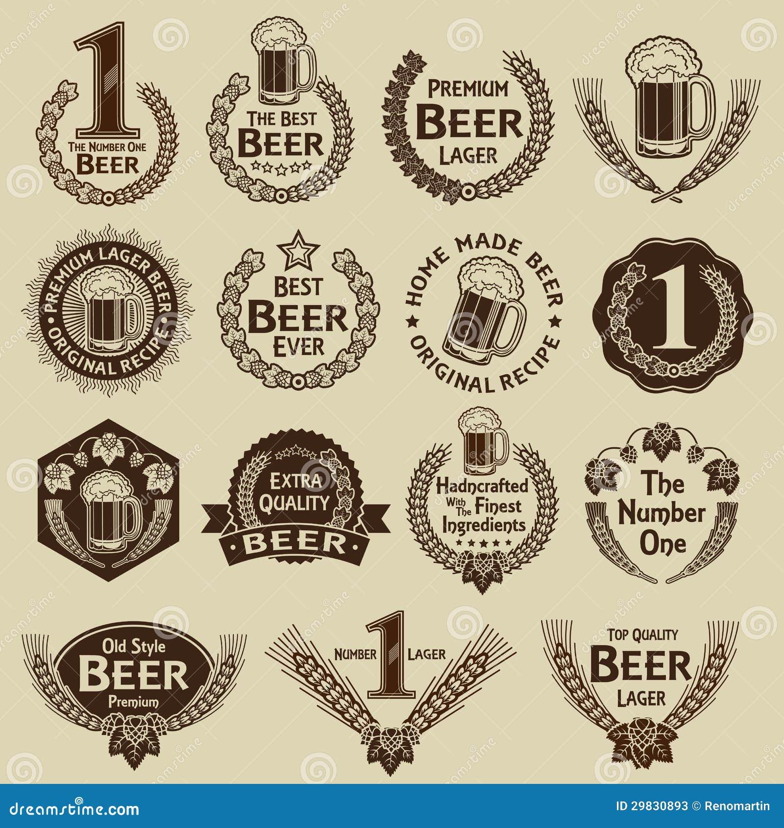 De de uitstekende Verbindingen & Tekens van het Bier van de Inzameling