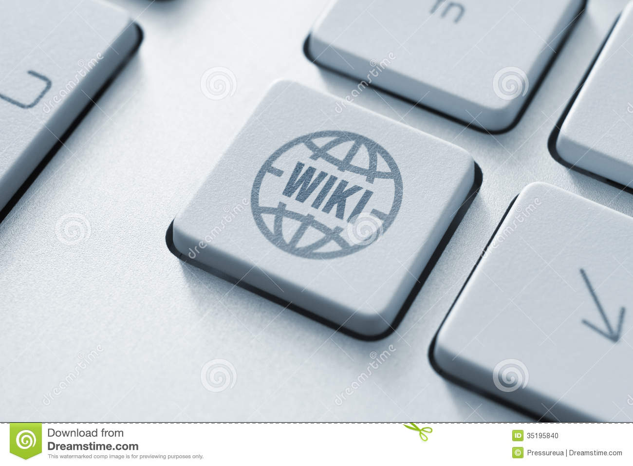 Wikipedia button stock photo. Image of articles, document ...