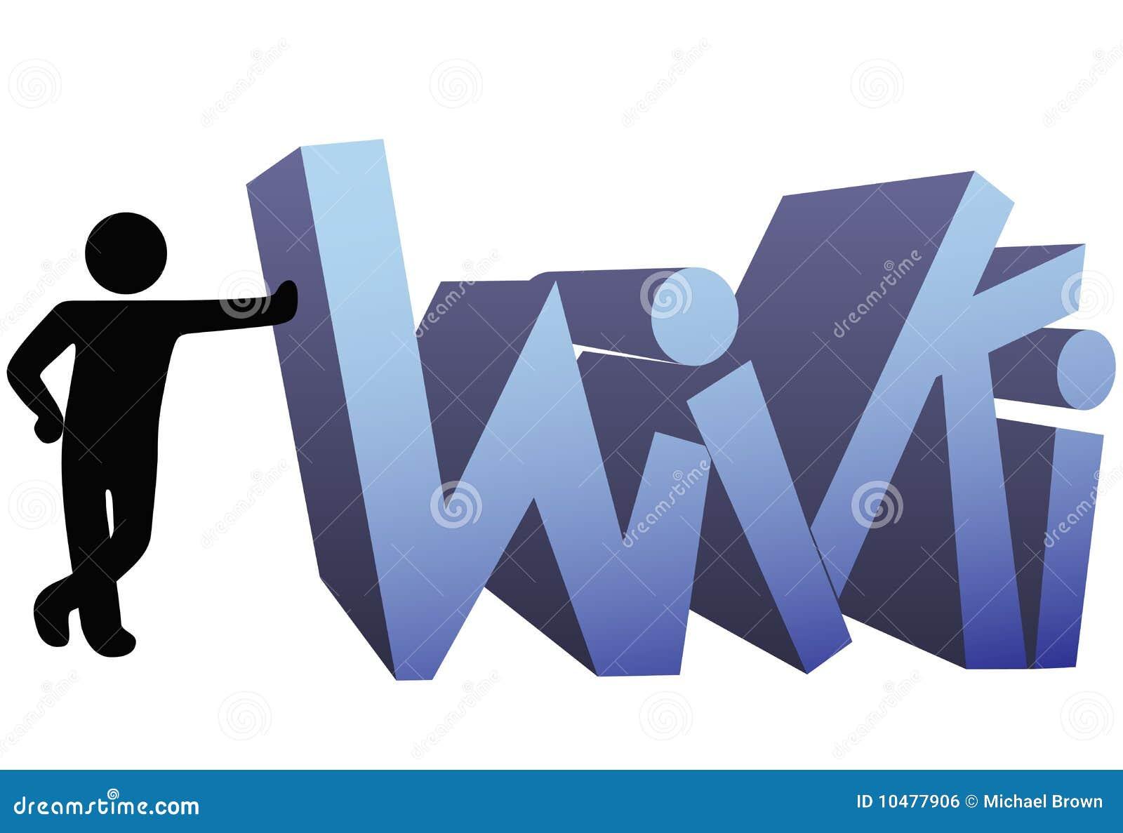 Wiki information people symbol