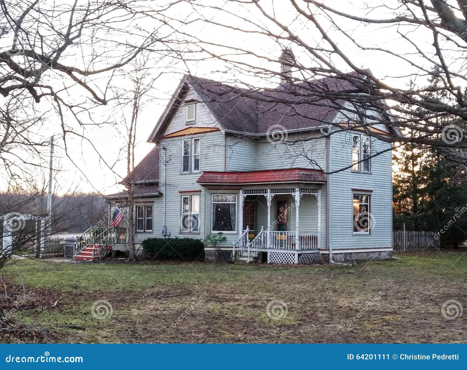 Wiktoriański gospodarstwa rolnego dom