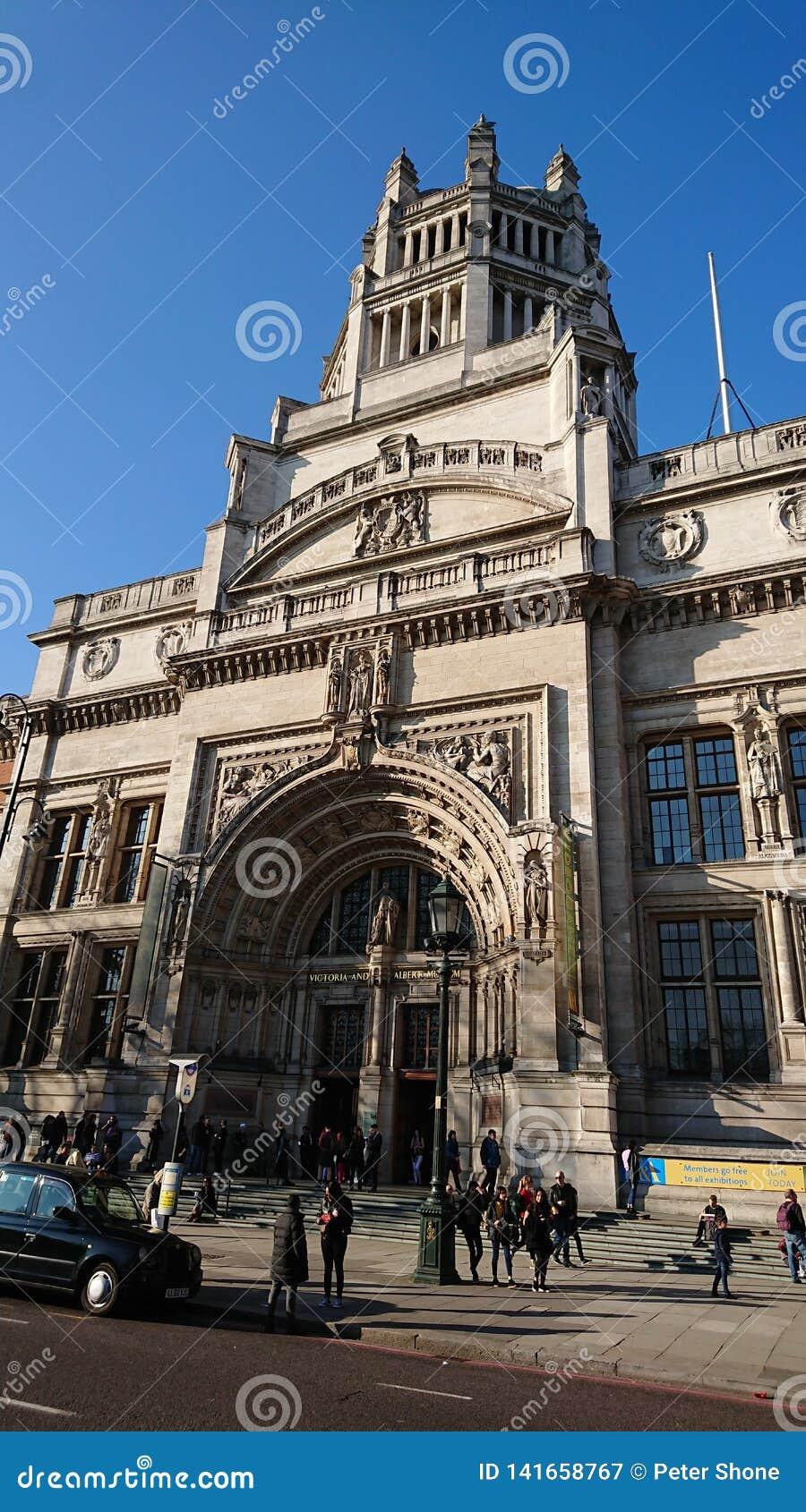 Wiktoria i Albert muzeum Londyn