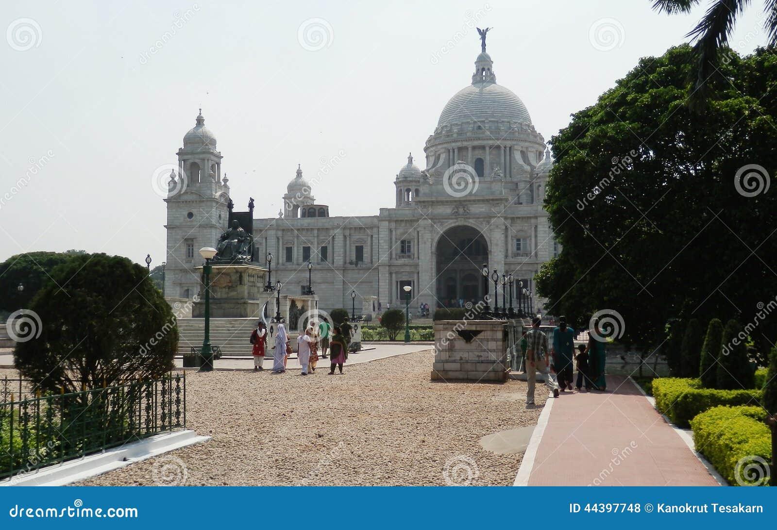 Wiktoria pamiątkowy Calcutta India