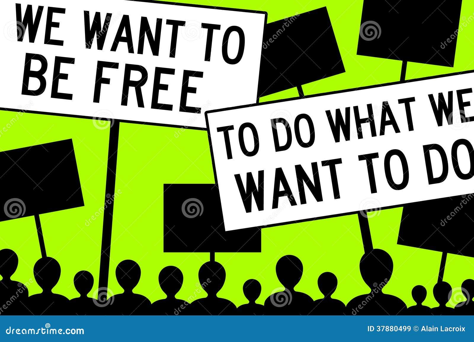 Wil vrij zijn