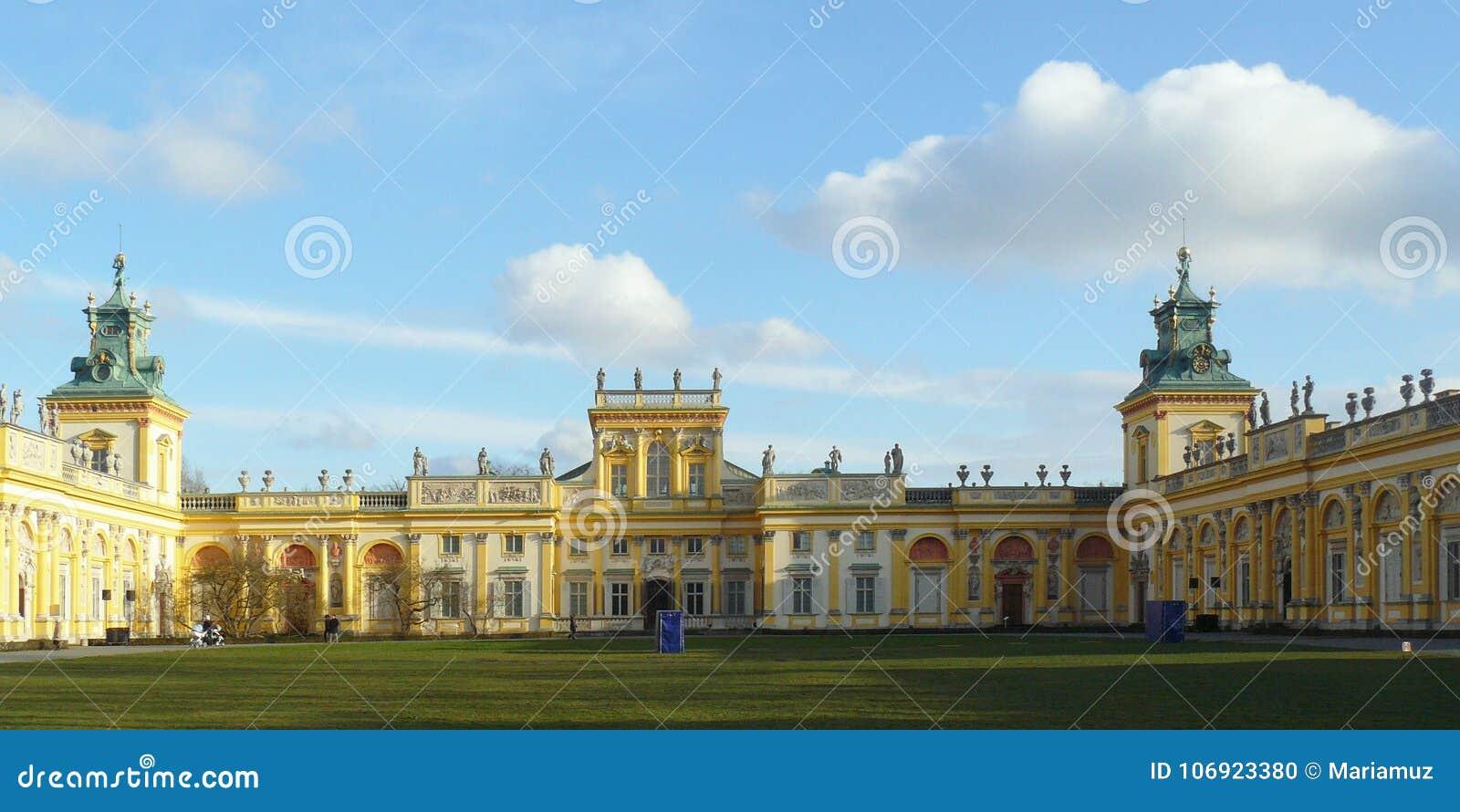 Wilanow Royal Palace, Warszawski Polska - szczegóły