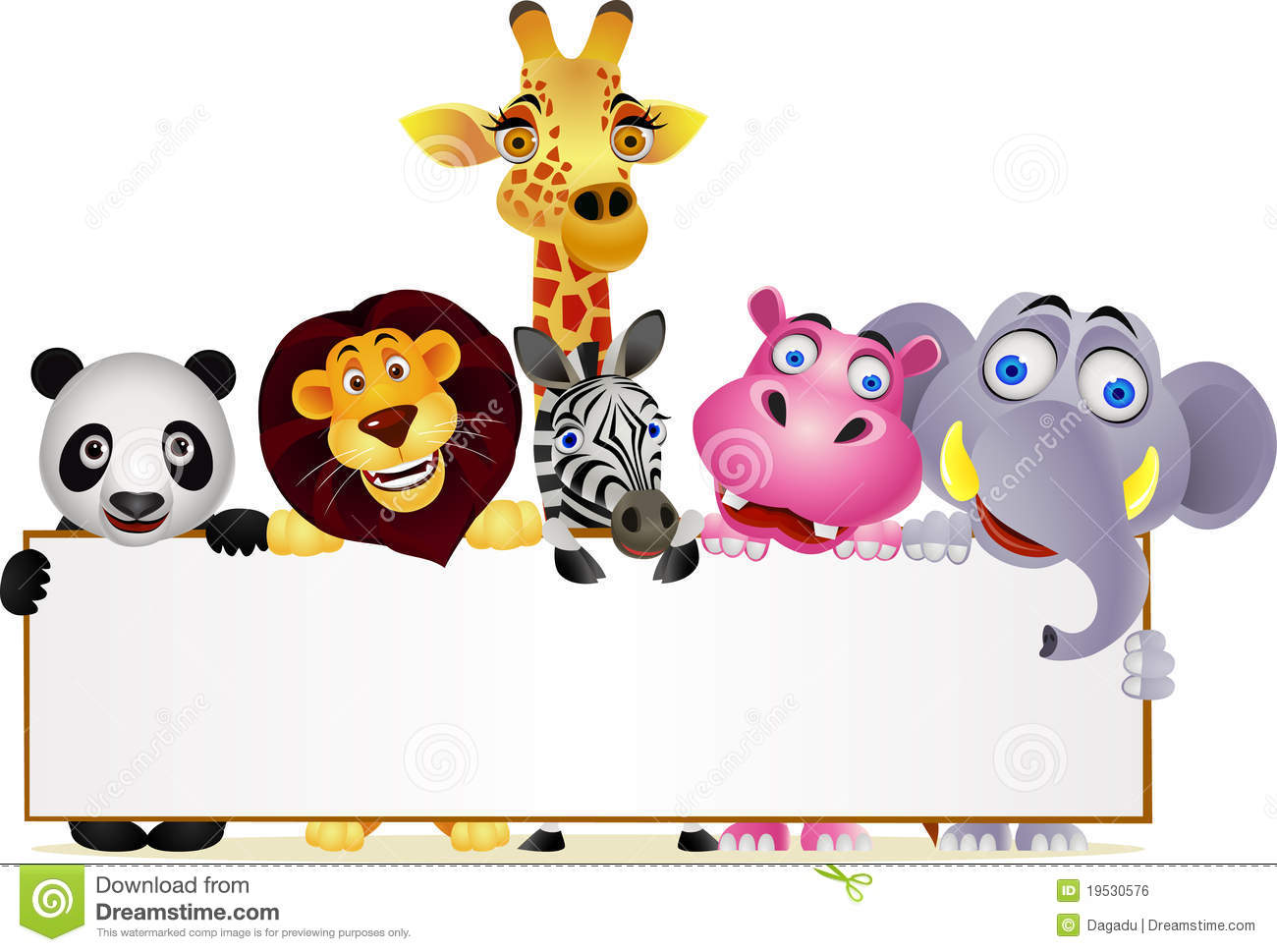 Royalty Free Stock Image: Wild animal cartoon. Image: 19530576