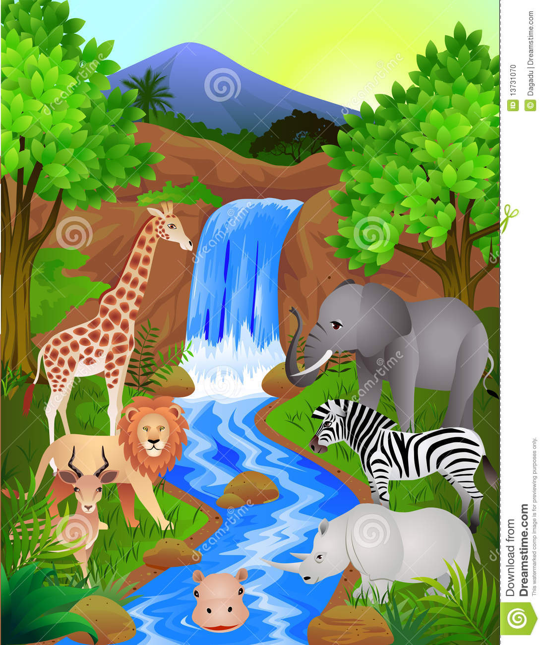 Stock Photo: Wild animal in the nature. Image: 13731070