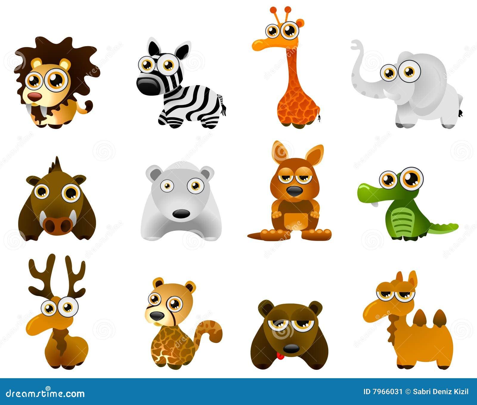 Wild Animal Vector Stock Vector Illustration Of Animal