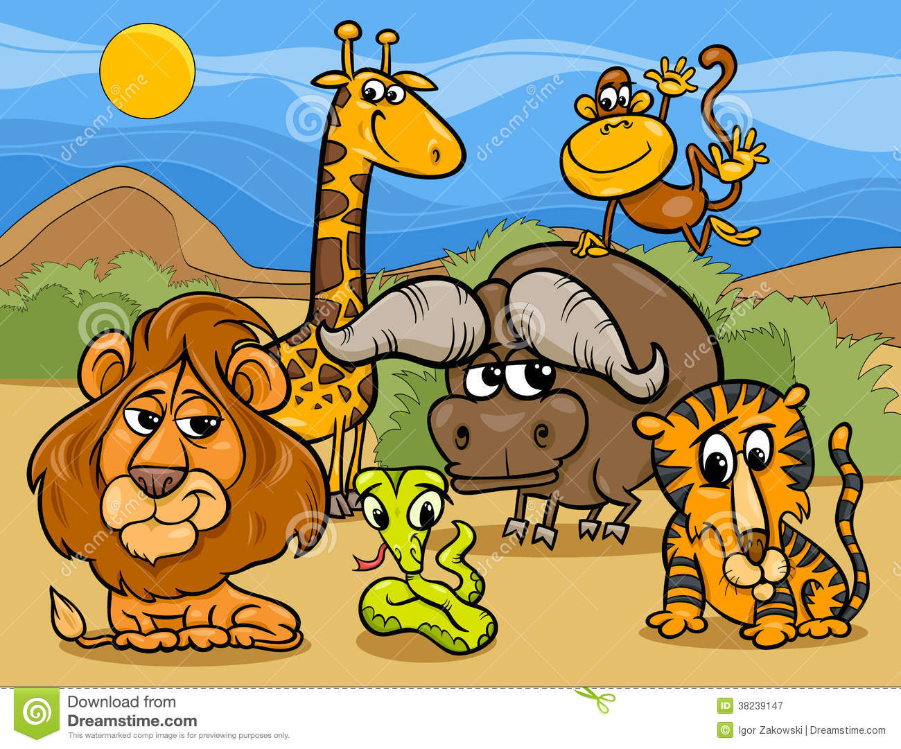 Best Free Hd Wallpaper Group Of Wild Animals Clipart