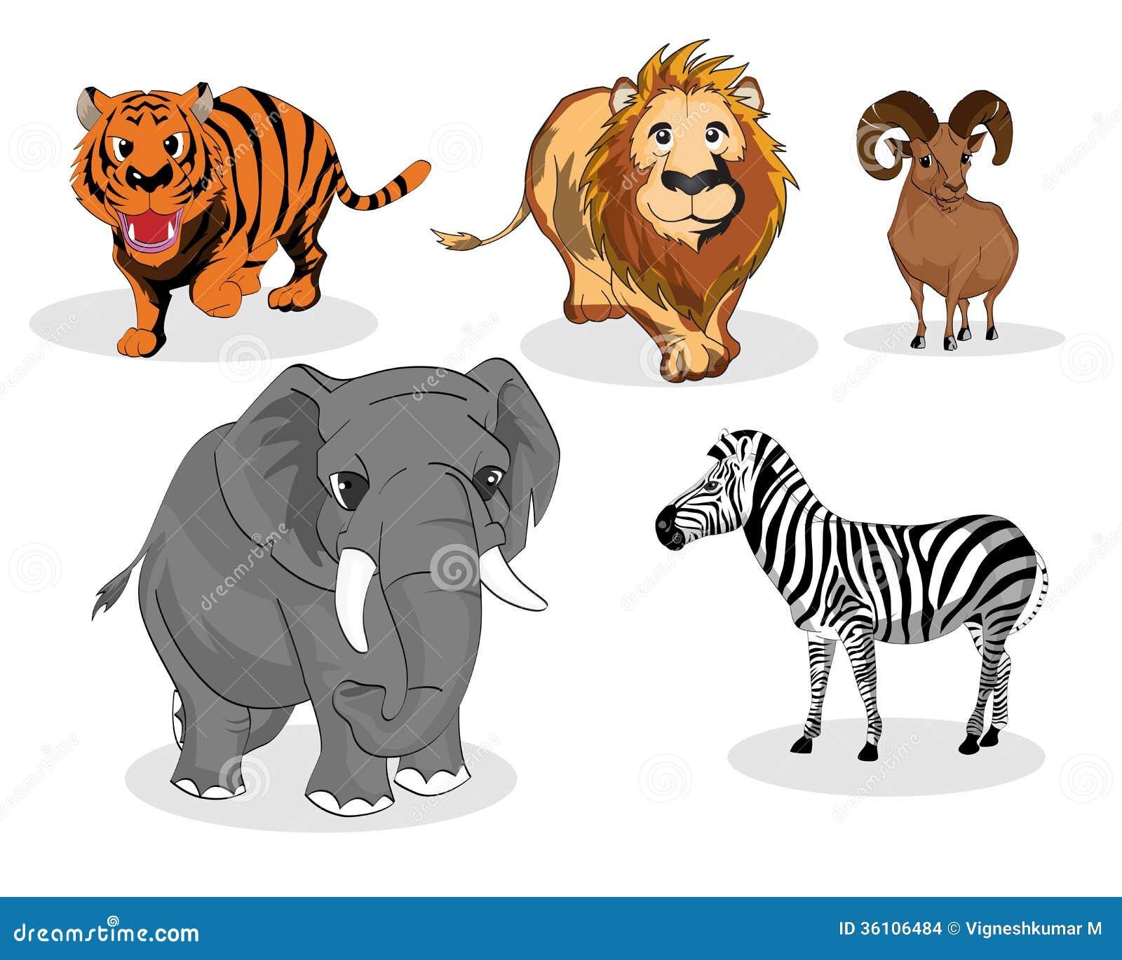 Herbivore animals clipart - photo#14