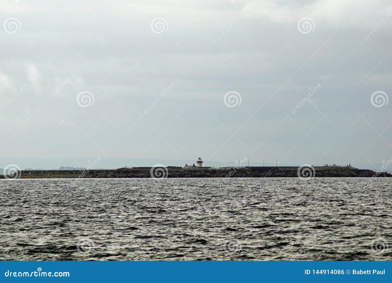 Wild Atlantic Way   The Mutton Island Lighthouse