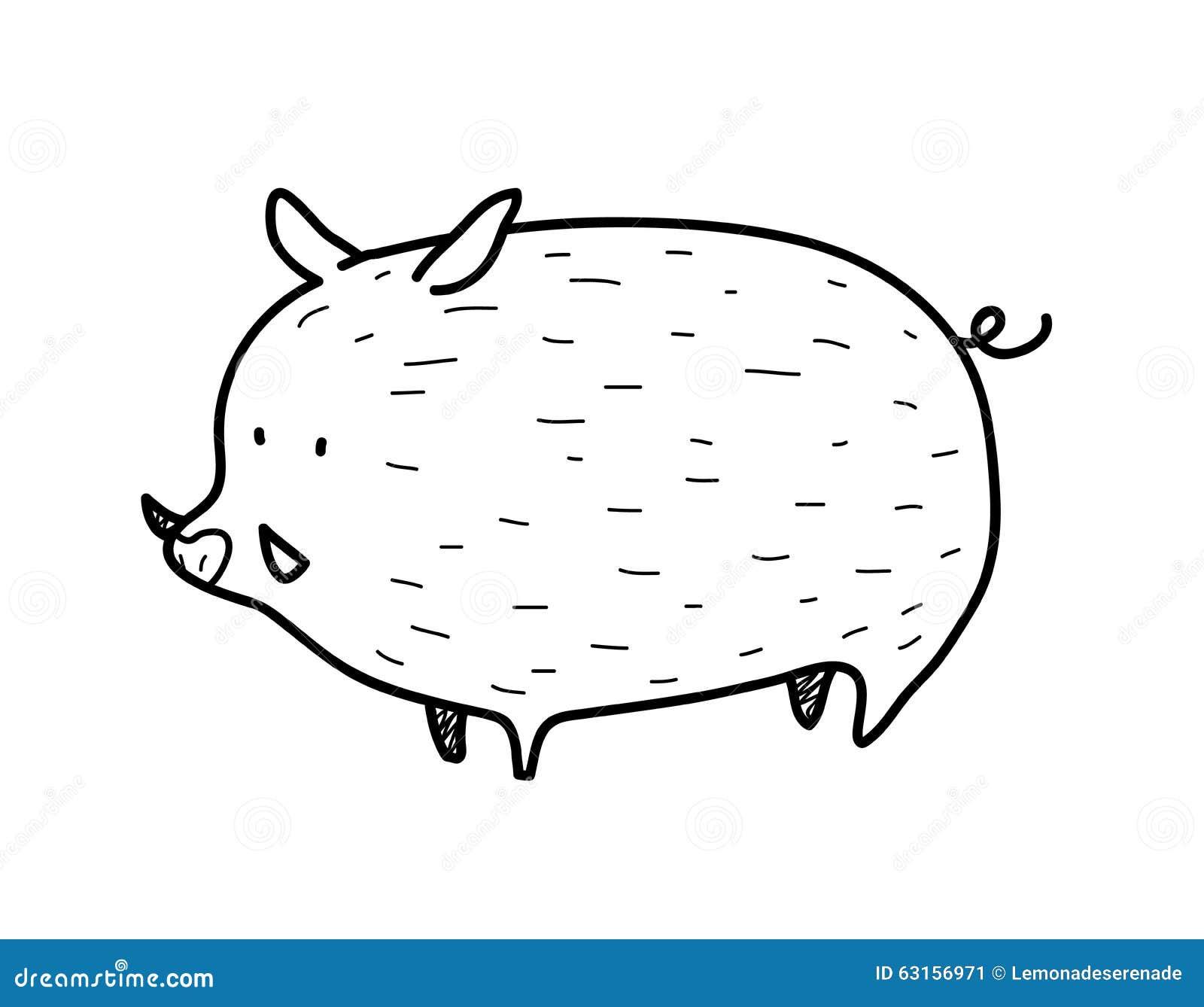 Wild Boar Doodle