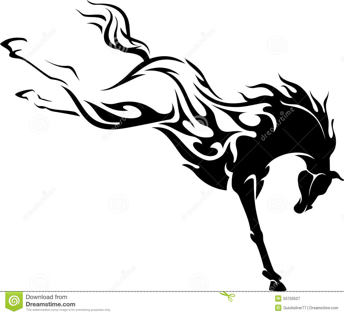 Wild Stallion Horse Drawing | www.imgkid.com - The Image ...