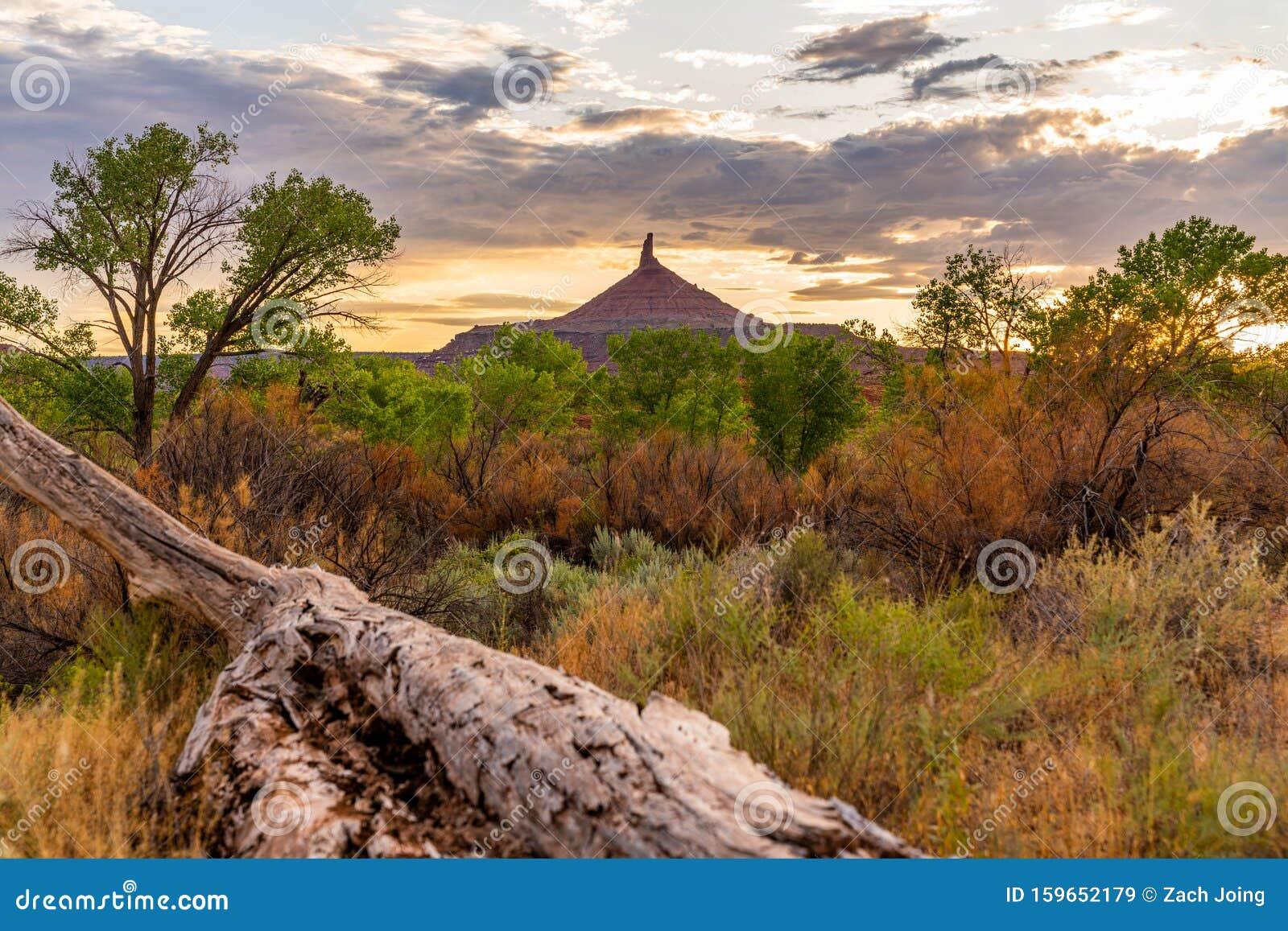 Wild Landscapes Of Moab, Utah Stock Image - Image of ...