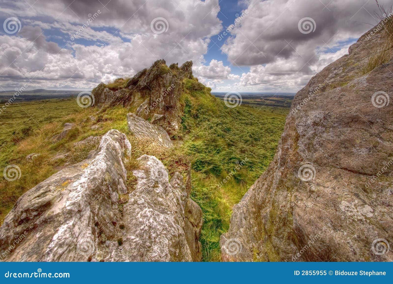 Wild landschap HDR 2