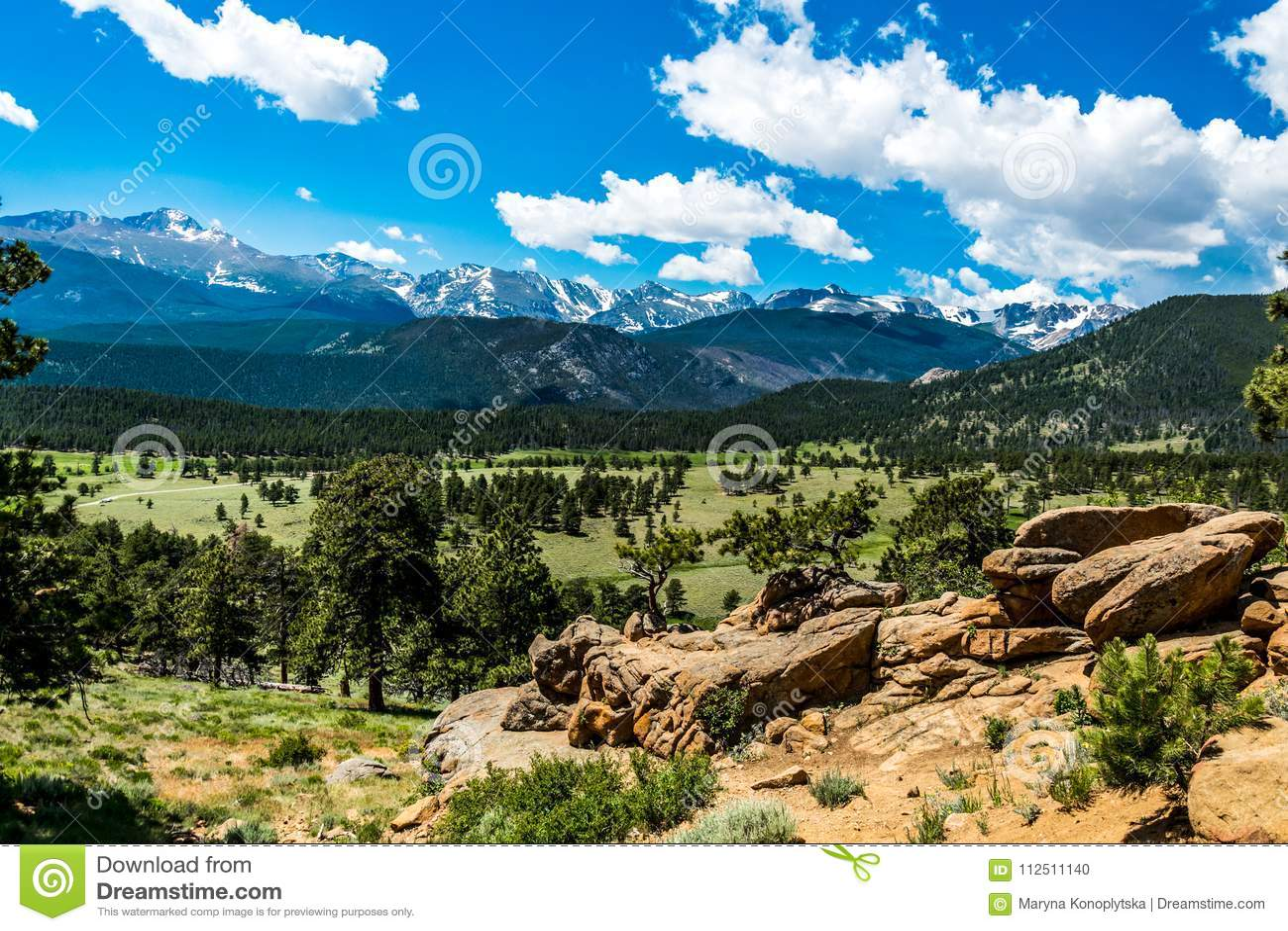 Rocky Mountain National Park Colorado Nature Of North America Usa