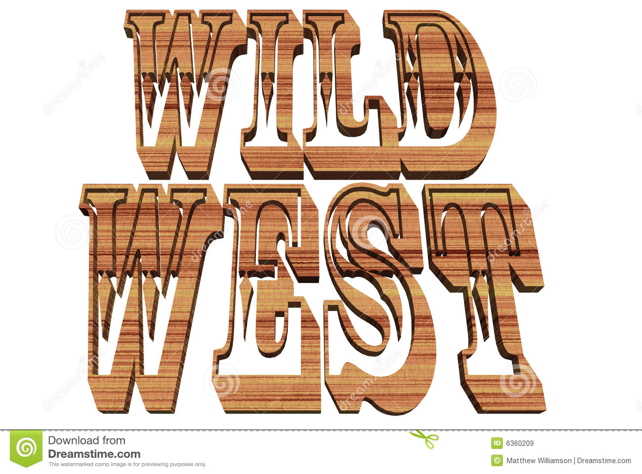 Wild West Royalty Free Stock Images Image 6360209