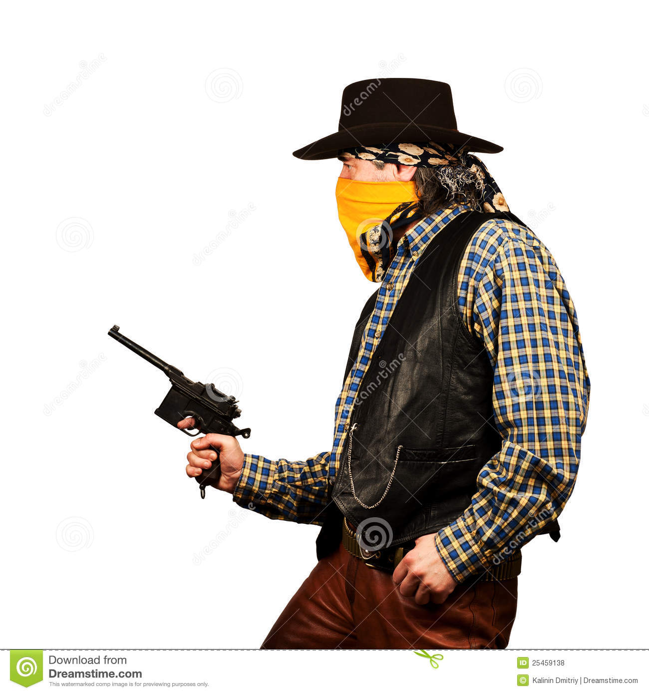 Western gunslinger royalty free stock photography image 31717397 - Wild West Bank Robbery Royalty Free Stock Photos