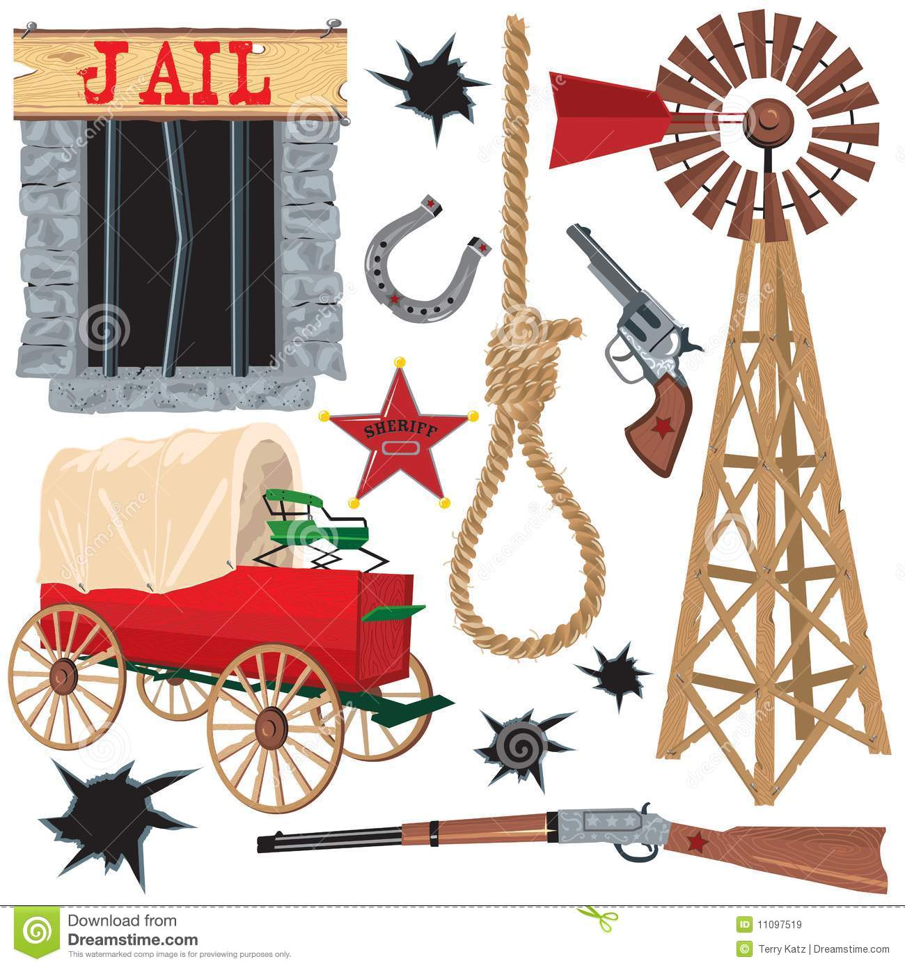 wild west clip art stock vector illustration of hangman 11097519 rh dreamstime com Old West Illustrations free wild west clip art vector