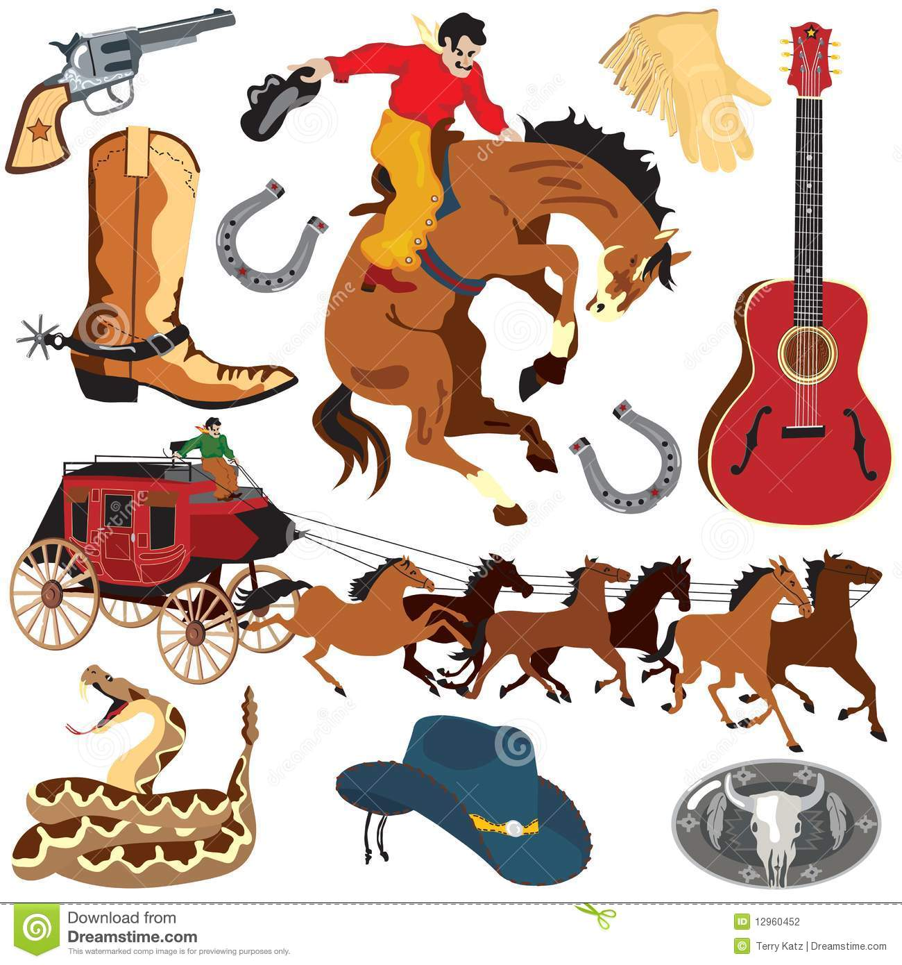 wild west clipart icons stock vector illustration of Free Wild West Silhouette free printable wild west clipart