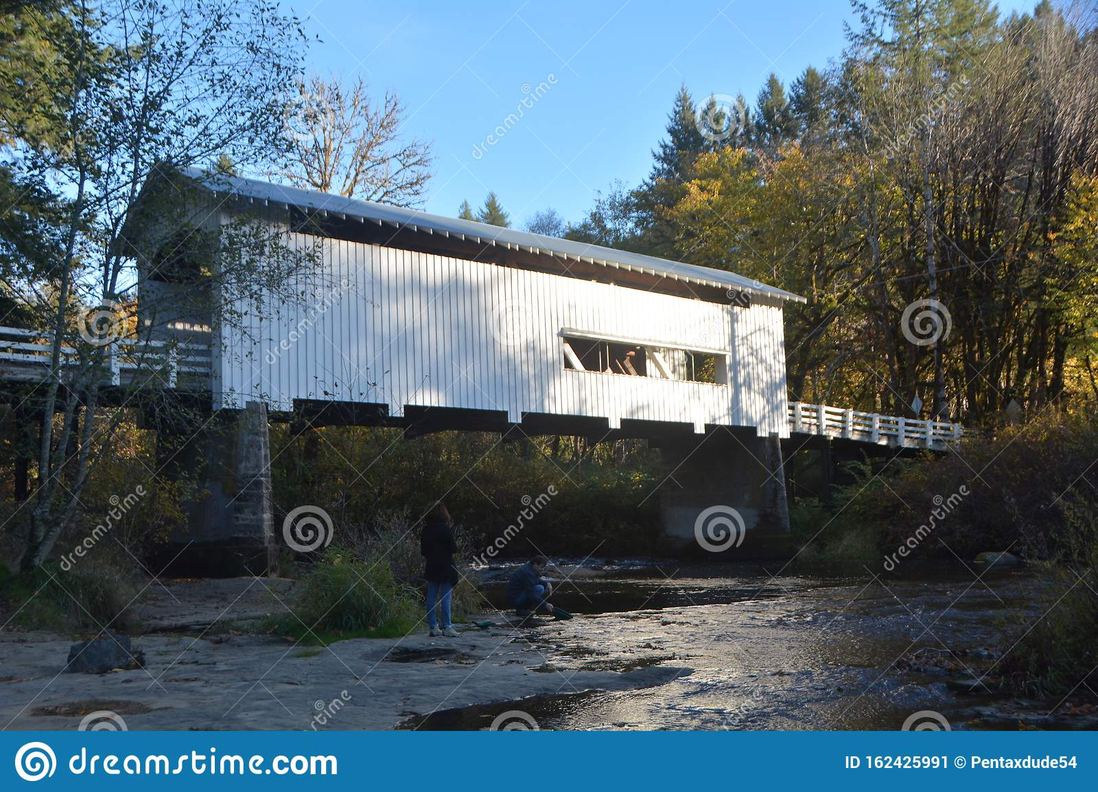 Wildcat Creek Covered Bridge, Lane Co., Oregon