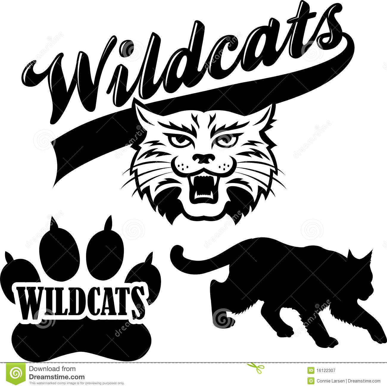 Wildcat clipart illustrations and clip art 100 wildcat