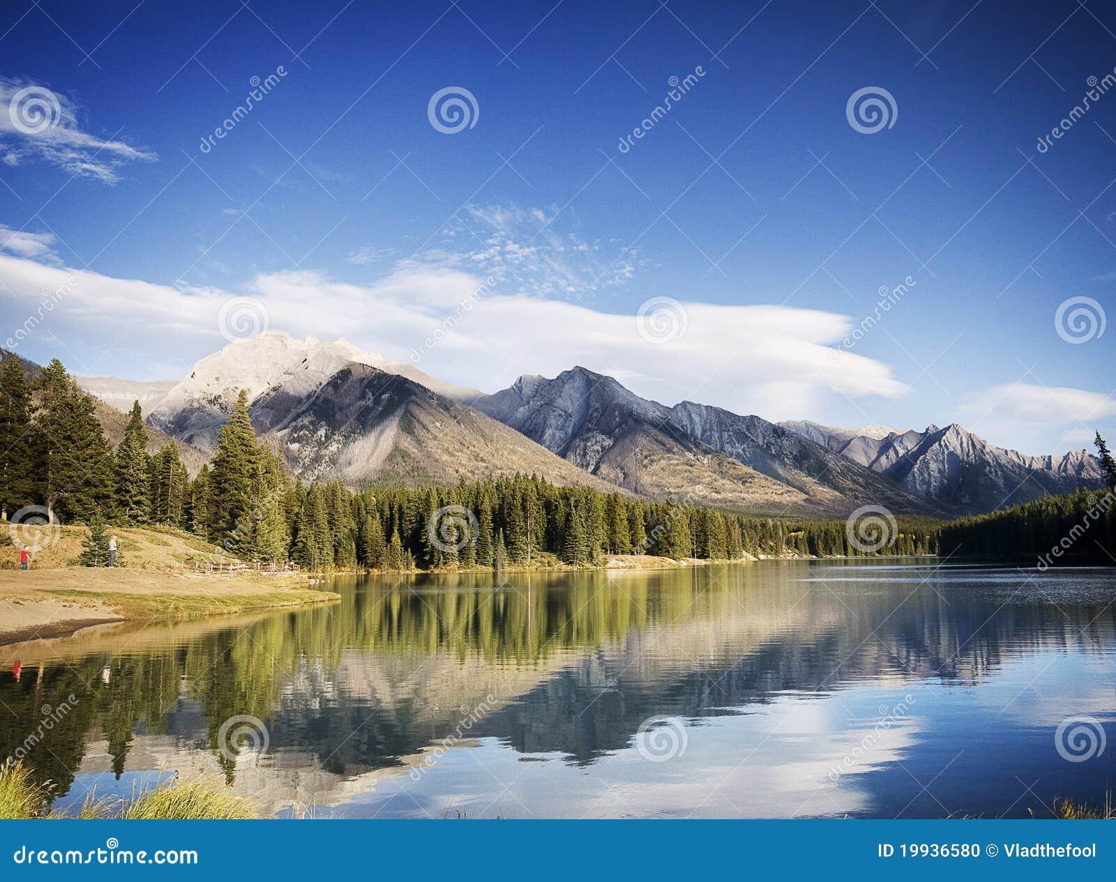 Wilde aard in Rotsachtige Bergen