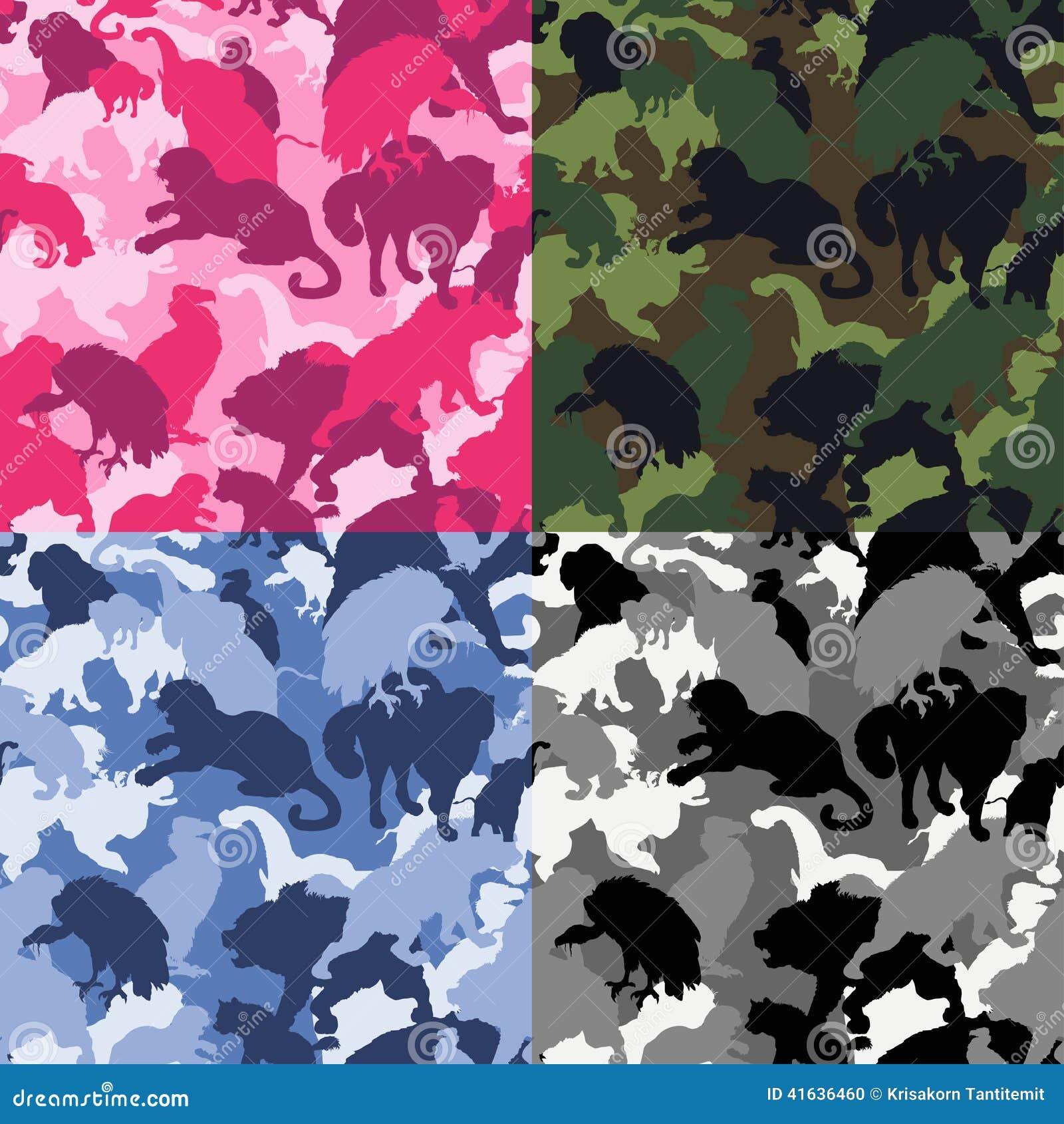 Wilde dierencamouflage