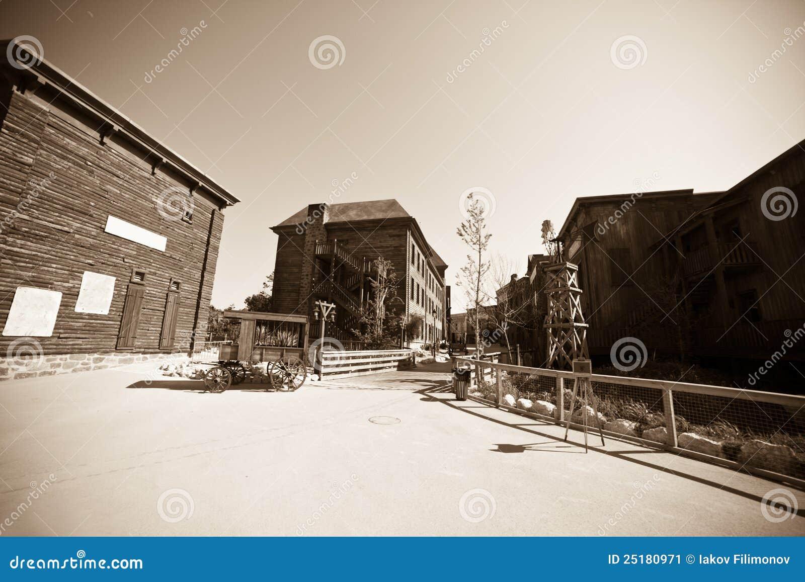 Wilde het westenstad
