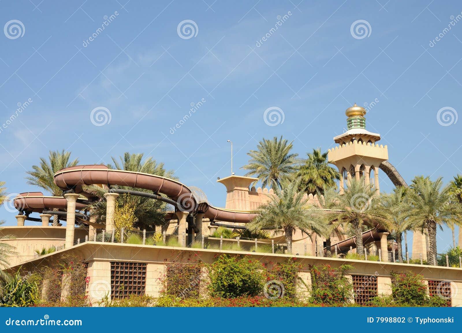 Wilder Wadi-Wasser-Park in Dubai