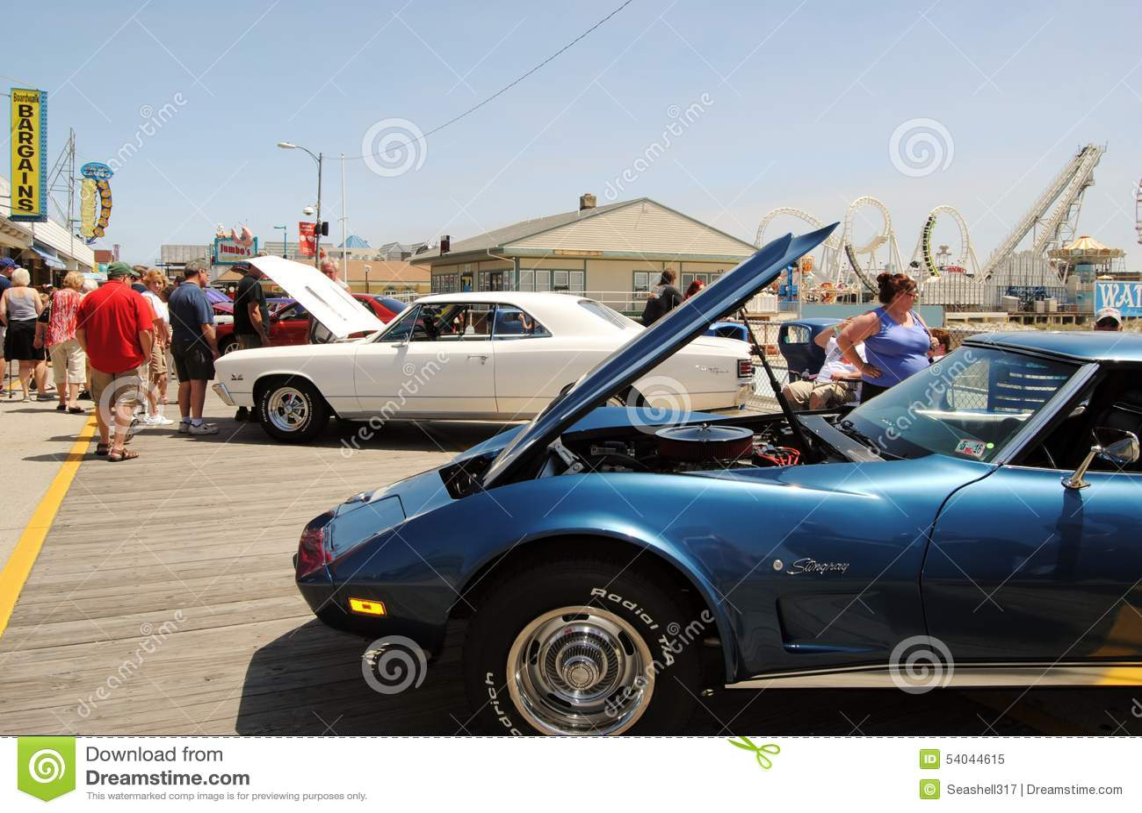 Wildwood Boardwalk Car Show