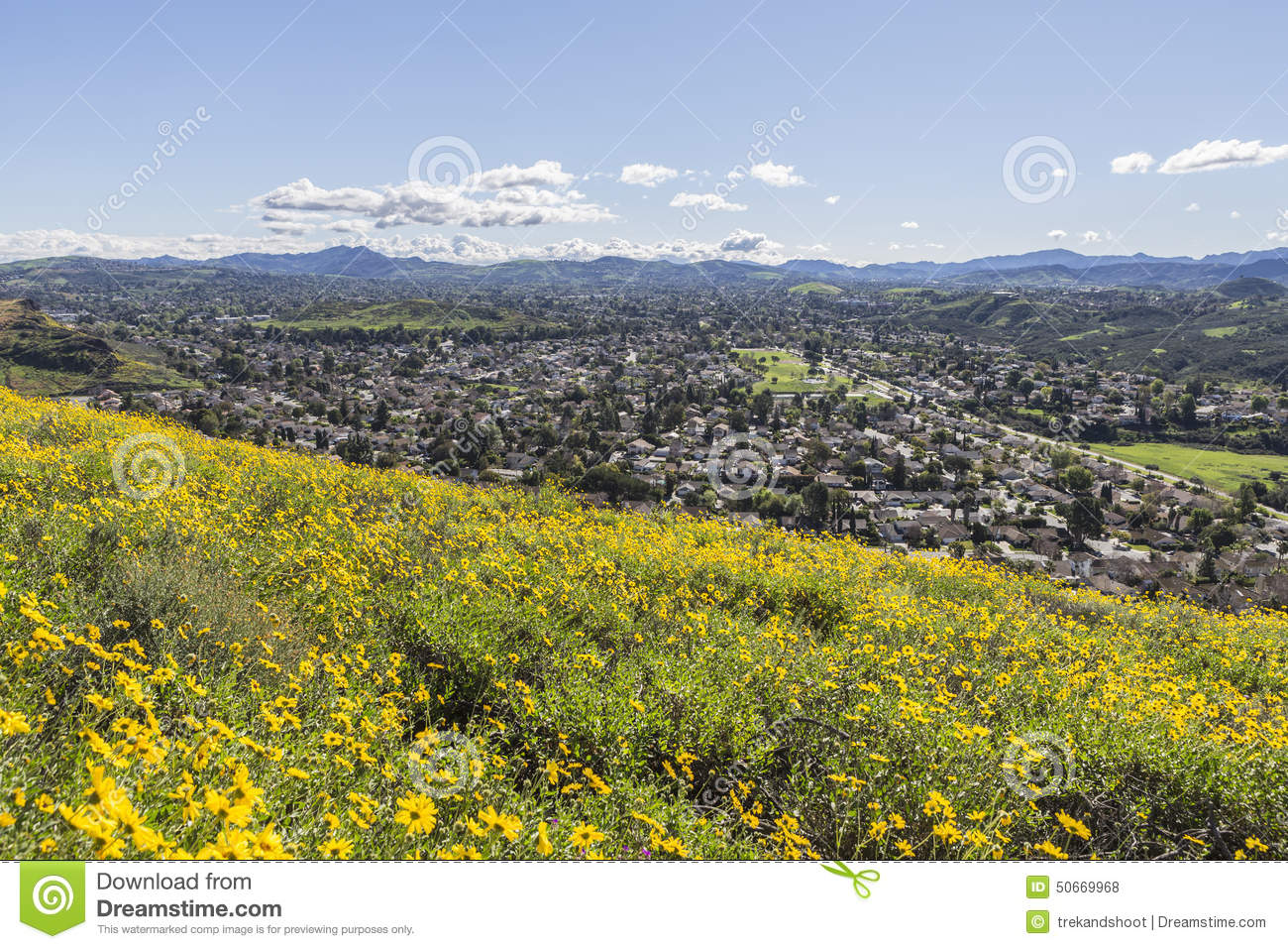 Wildwood Regional Park In Thousand Oaks California Stock Photo