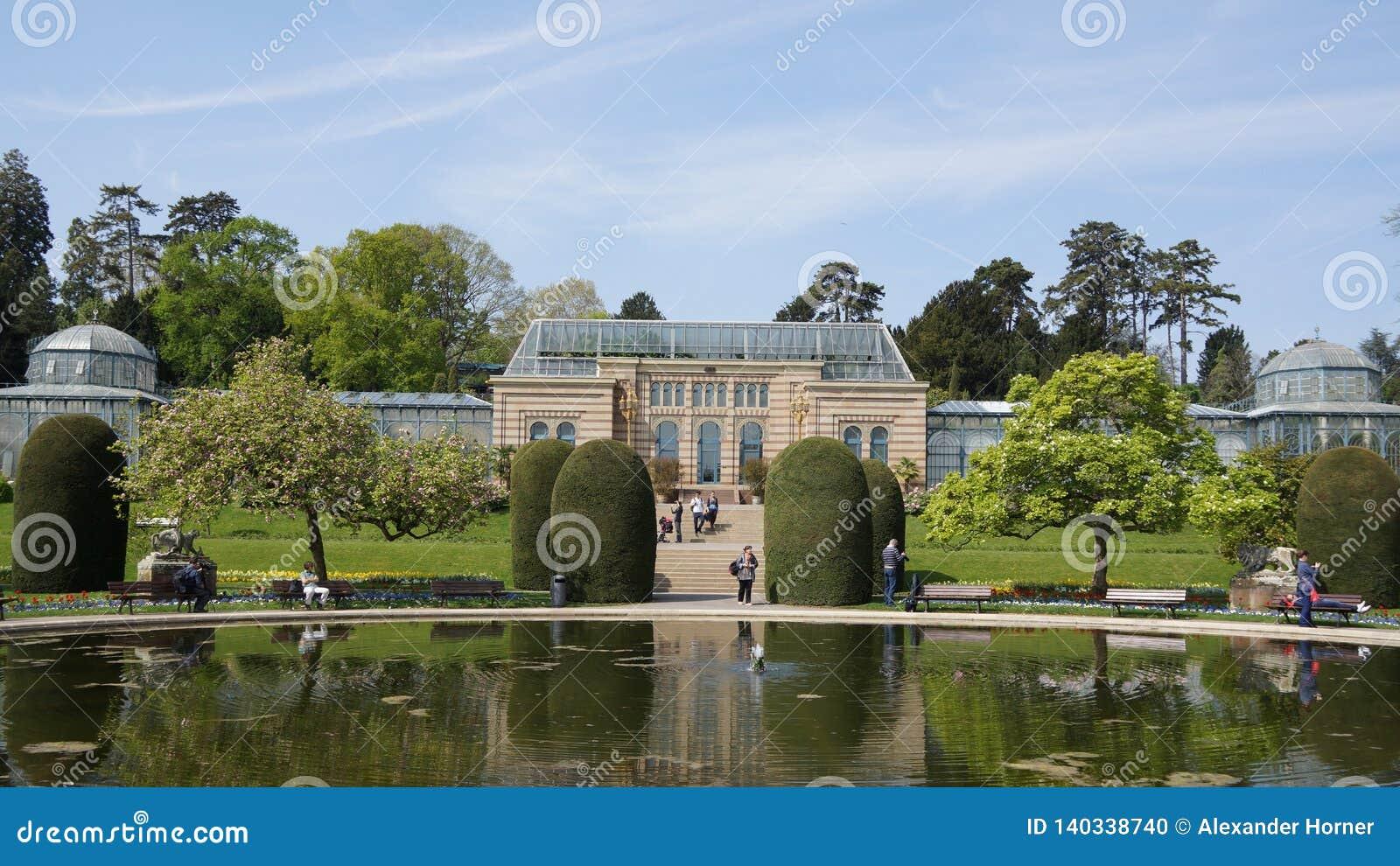 Wilhema zoo Niemcy budynku dziejowy park