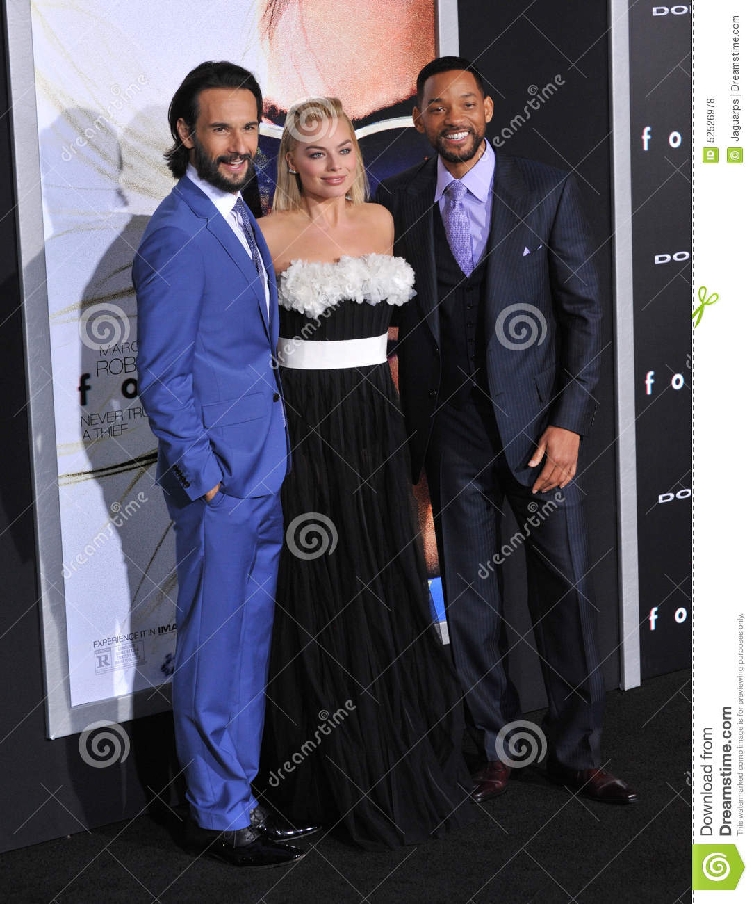 Will Smith, Margot Robbie & Rodrigo Santoro