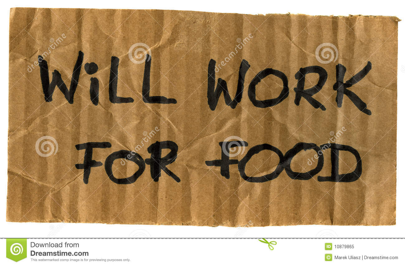 will-work-food-cardboard-sign-10879865.j