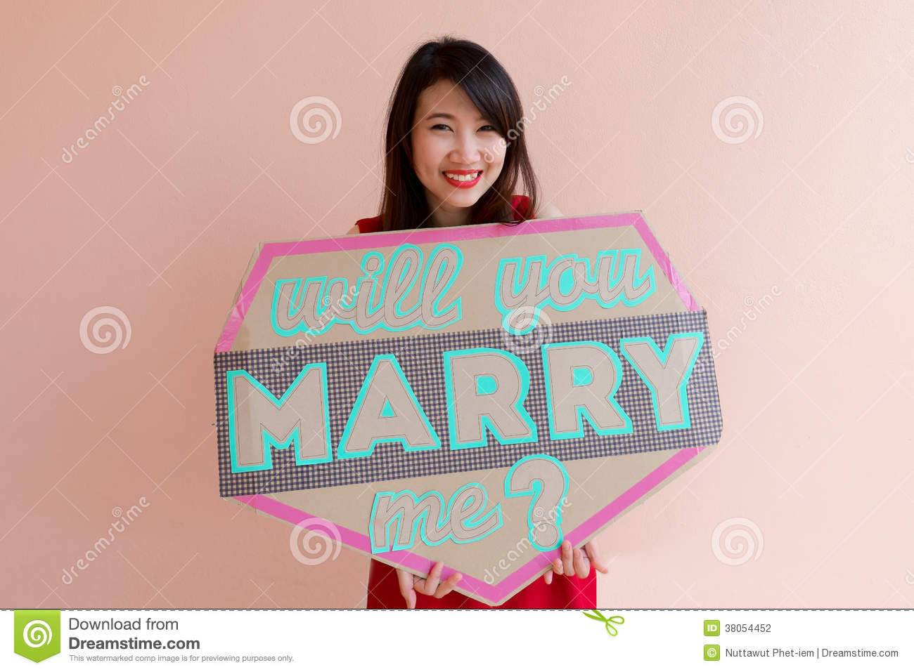 Will You Marry Me Stock Photography - Image: 38054452