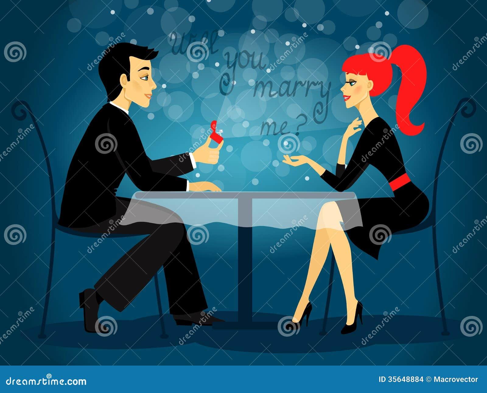 Парень сделал предложение девушке поздравления