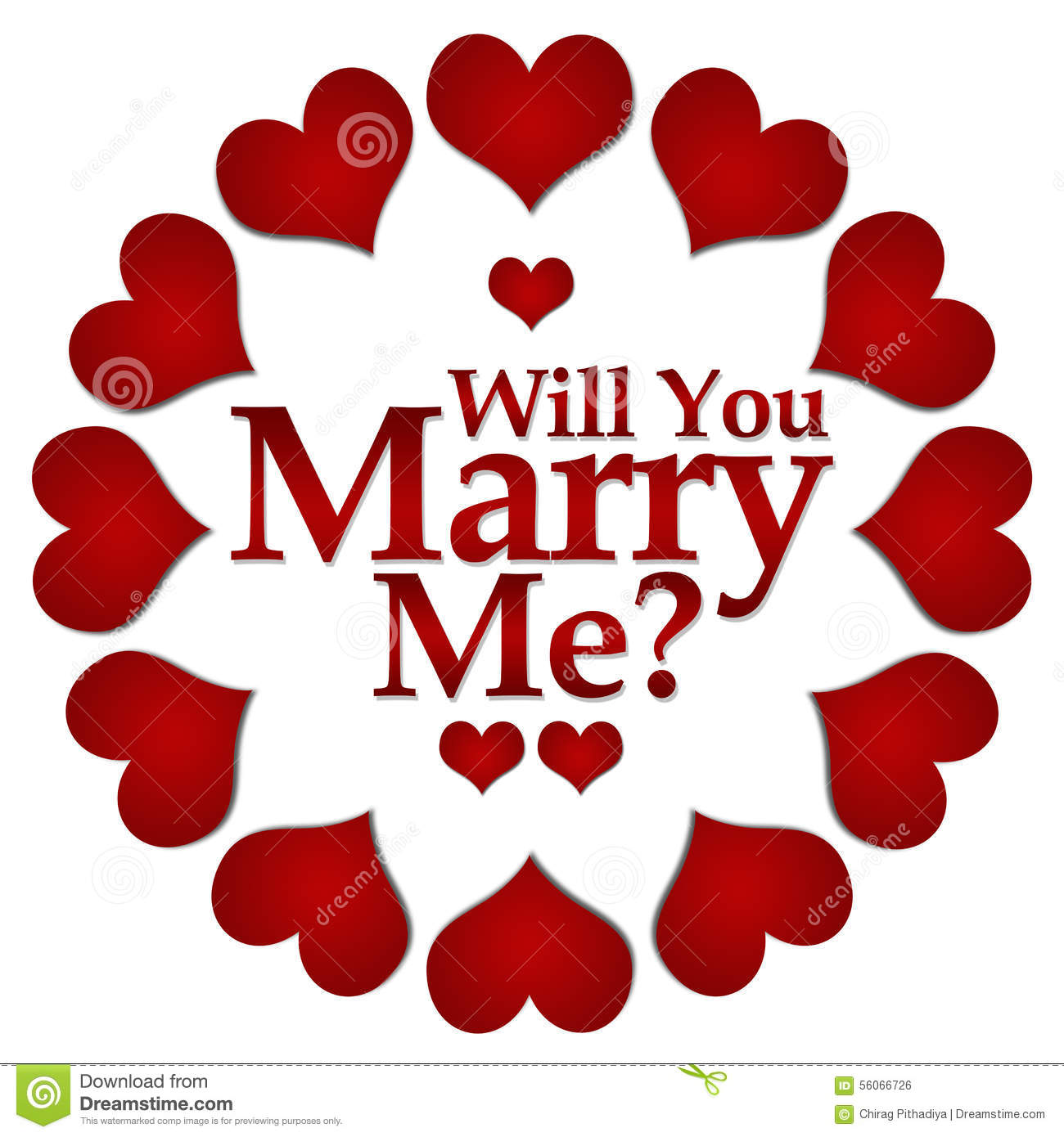 Will You Marry Me Stock Illustrations 279 Will You Marry Me Stock