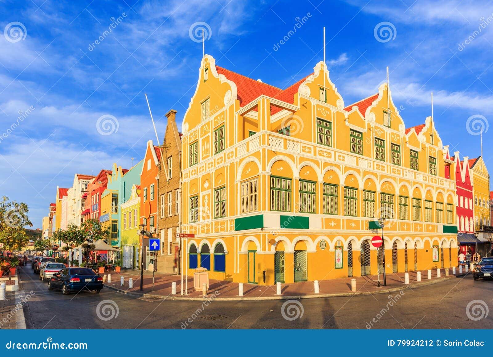 Willemstad 库拉索岛,荷属安的列斯