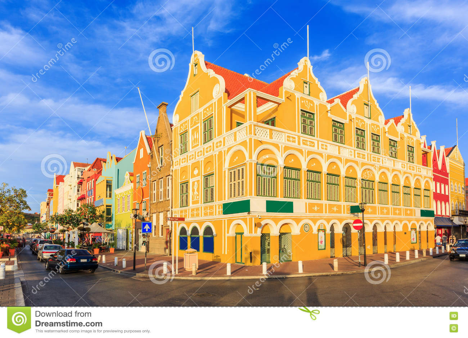 Willemstad Le Curaçao, Antilles néerlandaises