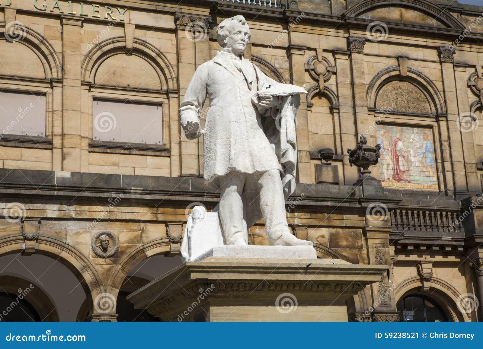 William Etty Statue y la York Art Gallery