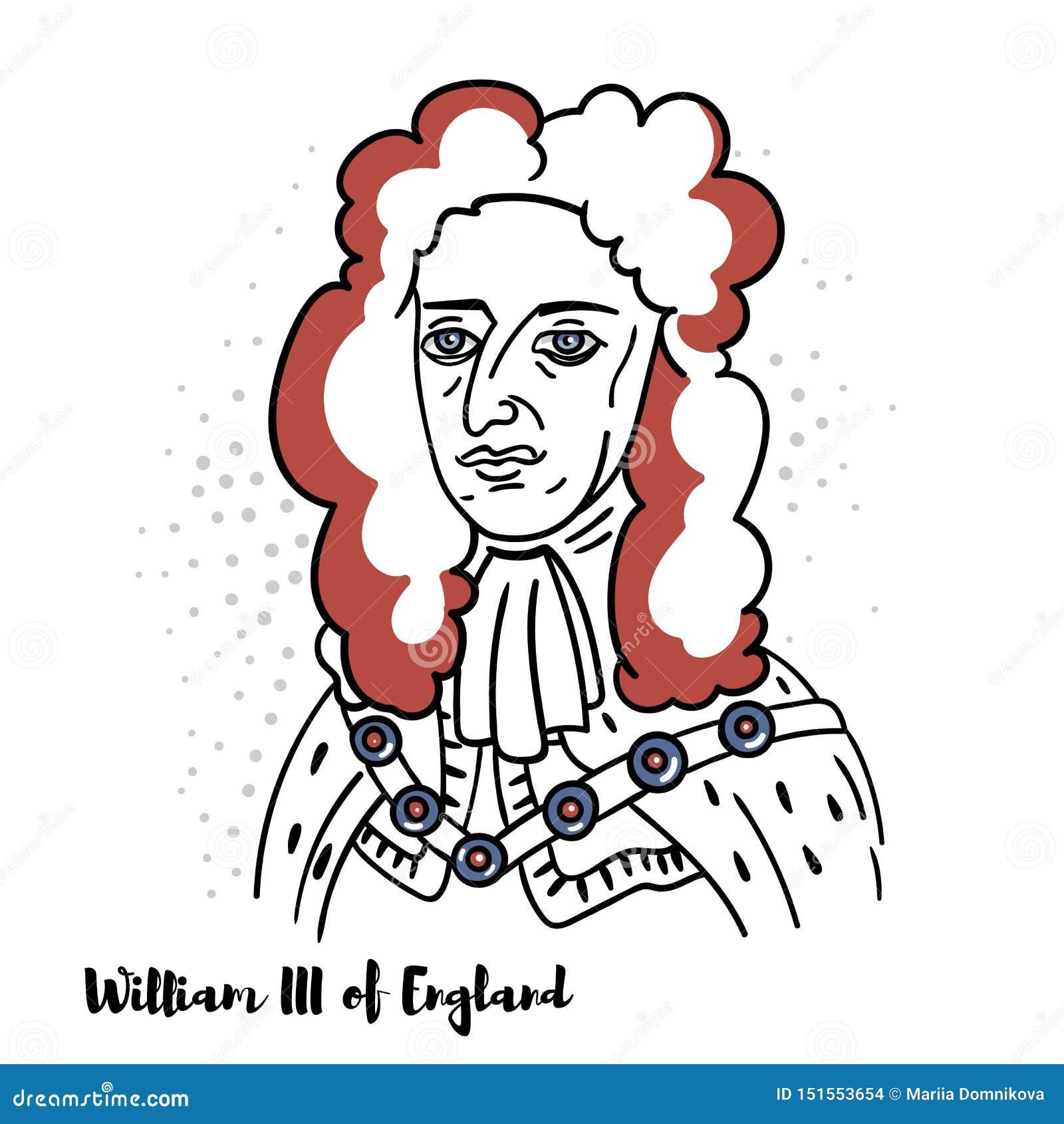 William III av den England ståenden