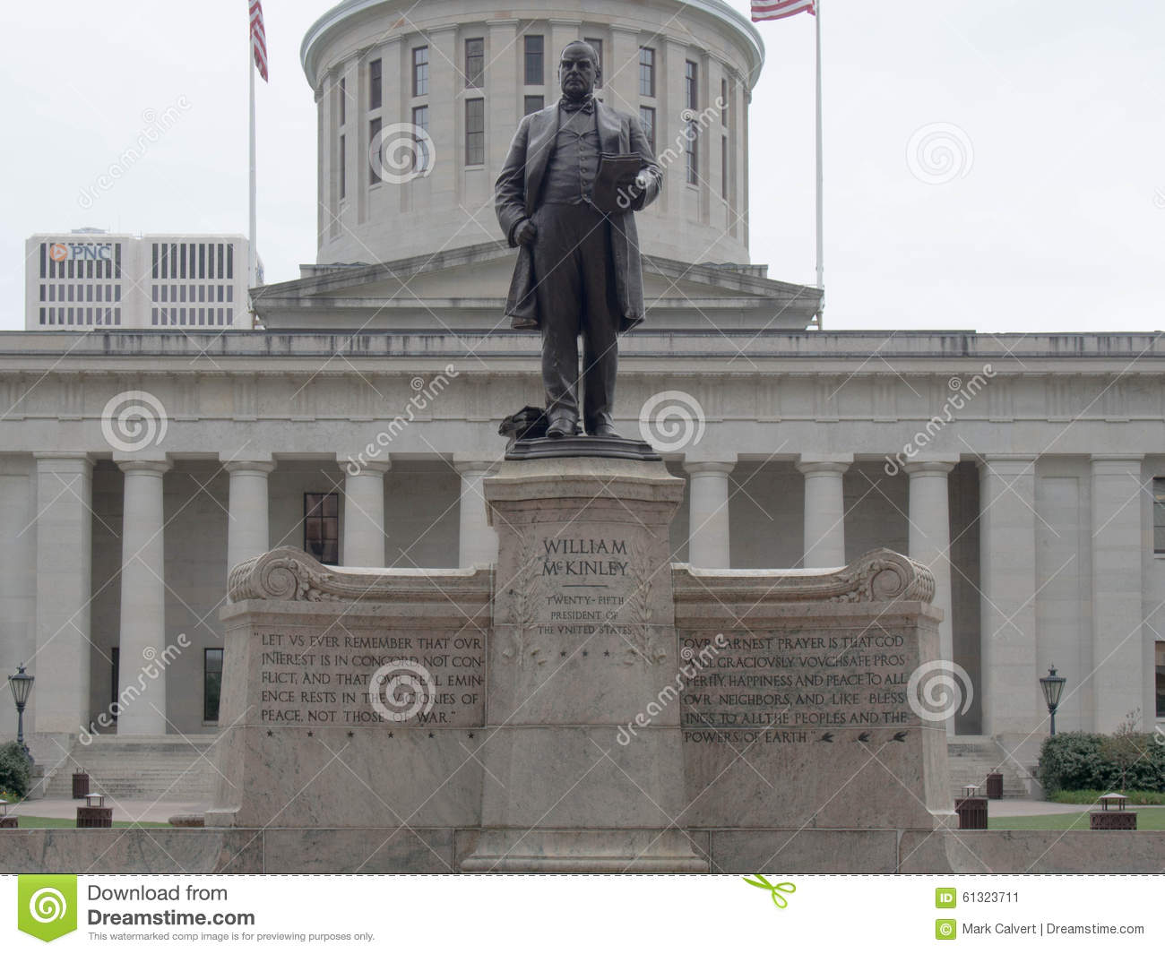 William McKinley Statue