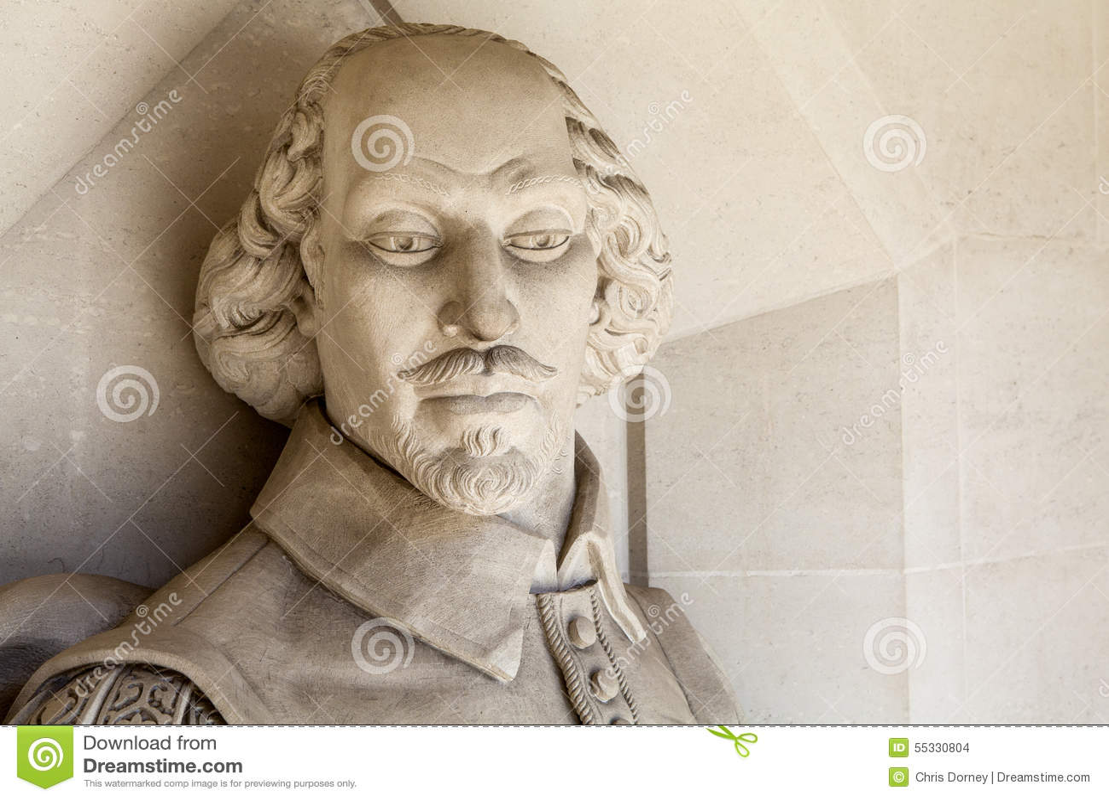 William Shakespeare Sculpture en Londres